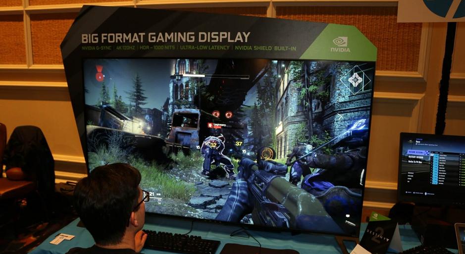 Nvidia präsentiert riesige 65-Zoll-Monitore für Spieler